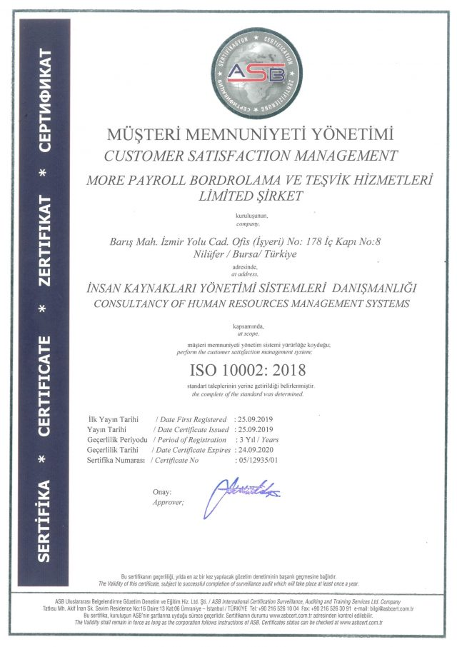 ISO 10002:2018